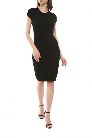 Платье Alexander McQueen. Цвет: черный