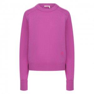 Кашемировый пуловер Chloé. Цвет: розовый