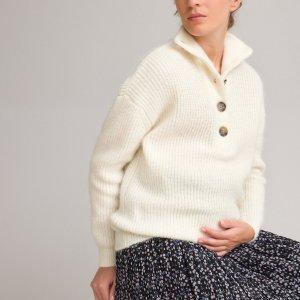 Пуловер LaRedoute. Цвет: белый