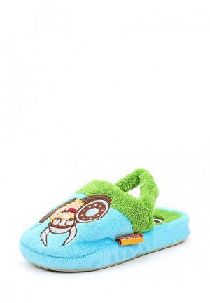 Тапочки Dream Feet. Цвет: голубой