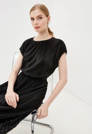 Блуза Jacqueline de Yong. Цвет: черный