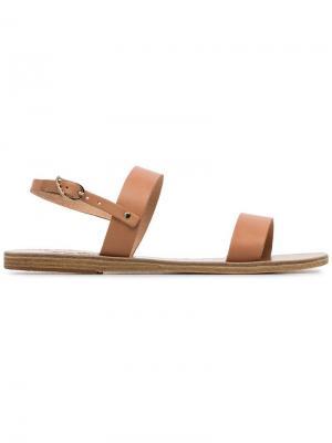 Сандалии Clio с ремешками Ancient Greek Sandals