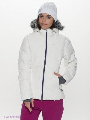 Пуховик COTEAUX JACKET SALOMON. Цвет: белый