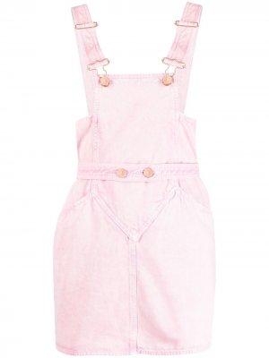 Платье-сарафан с квадратным вырезом Isabel Marant. Цвет: розовый