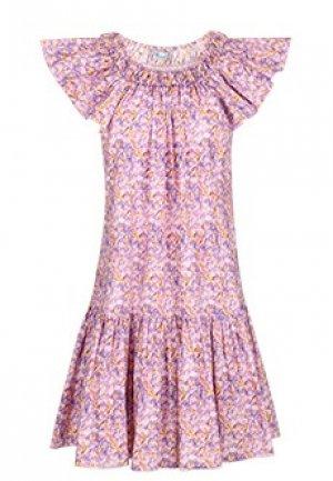 Платье BLUMARINE. Цвет: фиолетовый