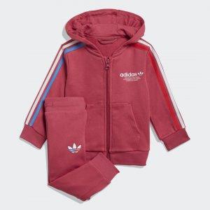 Спортивный костюм Adicolor Originals adidas. Цвет: розовый
