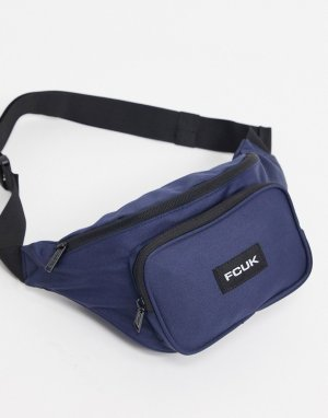 Темно-синяя сумка-кошелек на пояс -Темно-синий French Connection