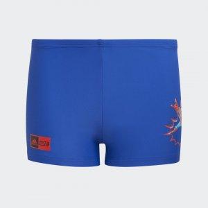 Плавки-боксеры Marvel Superhero Performance adidas. Цвет: красный