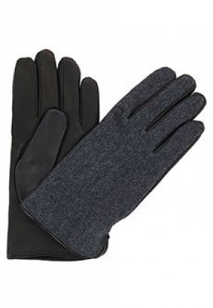 Перчатки BRUNO CARLO. Цвет: серый