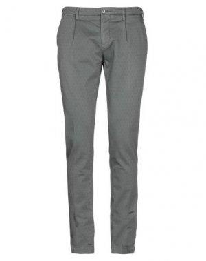 Повседневные брюки EM'S OF MASON'S. Цвет: свинцово-серый