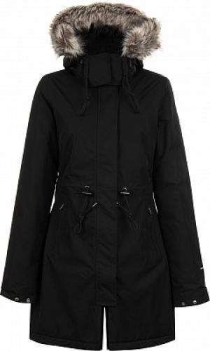 Куртка утепленная женская Zaneck, размер 40-42 The North Face. Цвет: черный