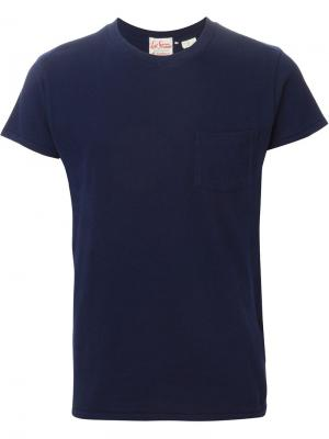 Футболки и жилеты Levis Vintage Clothing Levi's. Цвет: синий