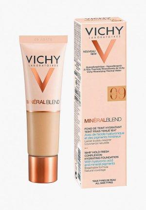 Тональная основа Vichy Mineralblend 16 часов стойкости и сияния кожи,. Цвет: бежевый