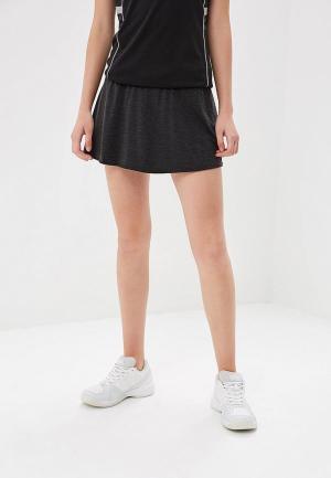 Юбка-шорты adidas BCADE SKIRT. Цвет: серый