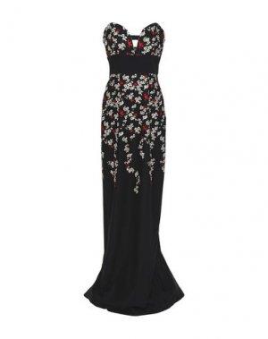 Длинное платье BLACK HALO. Цвет: черный
