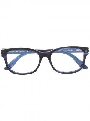 Logo embossed glasses Cartier. Цвет: синий