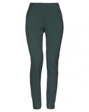 Повседневные брюки LABORATORIO. Цвет: зеленый
