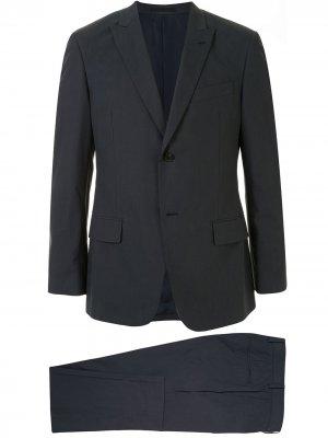 Строгий костюм-двойка Kent & Curwen. Цвет: серый