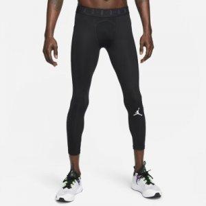 Мужские тайтсы длиной 3/4 Jordan Dri-FIT Air - Черный Nike