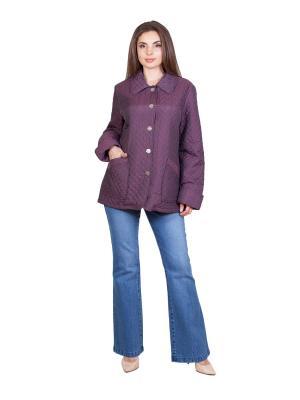 Куртка NAKAD. Цвет: синий, фиолетовый