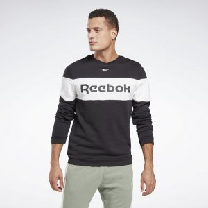 Свитшот Training Essentials Linear Logo Crew Reebok