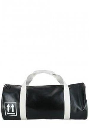 Спортивная сумка OFF-WHITE. Цвет: черный