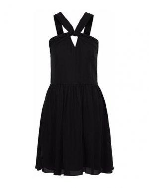 Короткое платье L'AGENCE. Цвет: черный