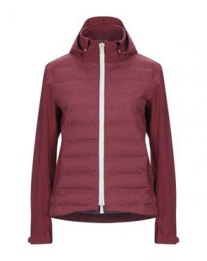 Куртка PEOPLE OF SHIBUYA. Цвет: красно-коричневый