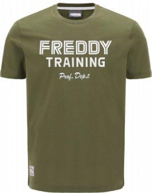 Футболка мужская , размер 50-52 Freddy. Цвет: зеленый