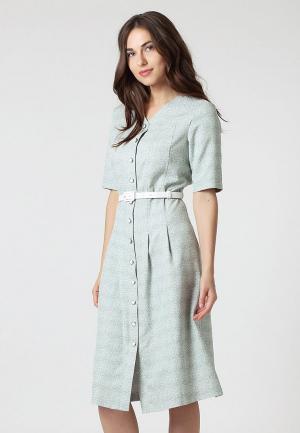 Платье Lova. Цвет: бирюзовый