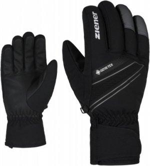Перчатки мужские Gunar, размер 8 Ziener. Цвет: черный