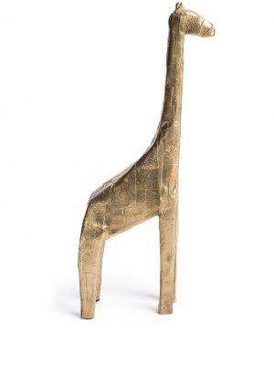 Декоративная фигурка Giraffe Pulpo. Цвет: золотистый