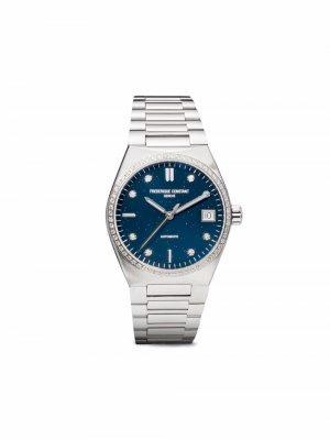 Наручные часы Highlife Ladies Automatic 34 мм Frédérique Constant. Цвет: синий
