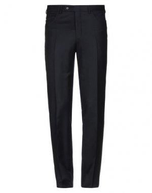 Повседневные брюки CANALI. Цвет: темно-синий