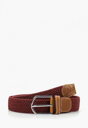 Ремень Churchill accessories. Цвет: бордовый