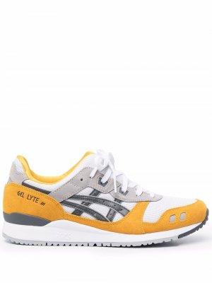 Кроссовки Gel-Lyte III со вставками ASICS. Цвет: желтый