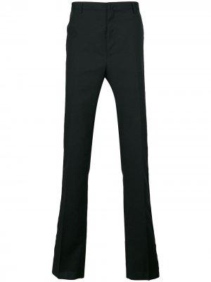 Строгие классические брюки LANVIN. Цвет: черный