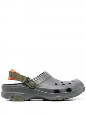 Кроксы Classic Crocs. Цвет: серый