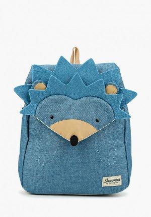 Рюкзак Samsonite. Цвет: синий