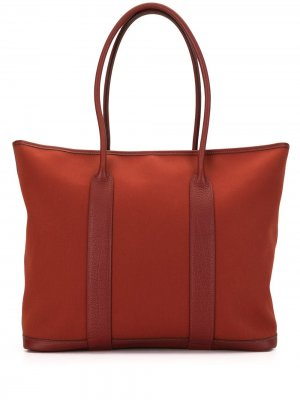 Сумка-тоут Garden Zip MM 2009-го года pre-owned Hermès. Цвет: красный
