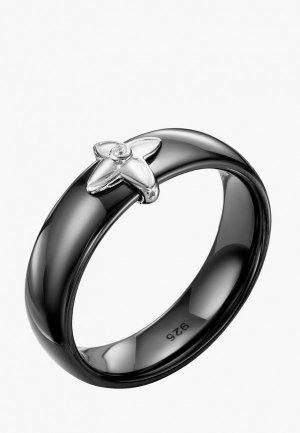 Кольцо Серебро России. Цвет: разноцветный
