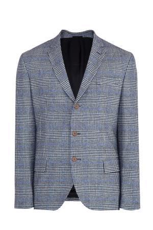 Пиджак ERMANNO SCERVINO. Цвет: серый