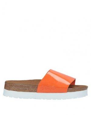 Сандалии BIRKI'S. Цвет: оранжевый