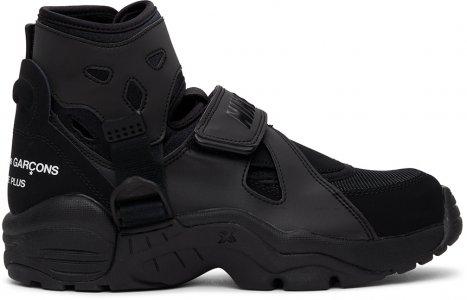 Black Nike Edition Air Carnivore Sneakers Comme des Garçons Homme Plus. Цвет: 1 black
