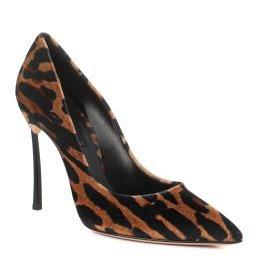 Туфли 1F161D100 леопардовый CASADEI