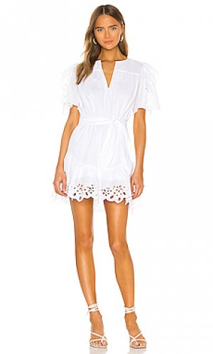Платье safia Joie. Цвет: белый
