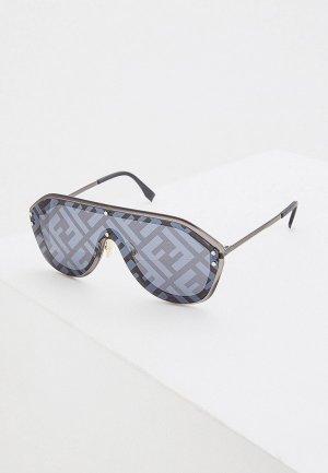 Очки солнцезащитные Fendi FF M0039/G/S V81. Цвет: серый