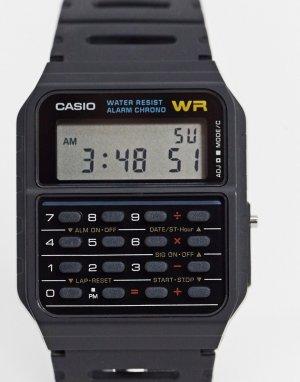 Черные наручные часы CA-53W-1ER-Черный Casio