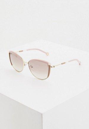 Очки солнцезащитные Carolina Herrera 149-300X. Цвет: розовый