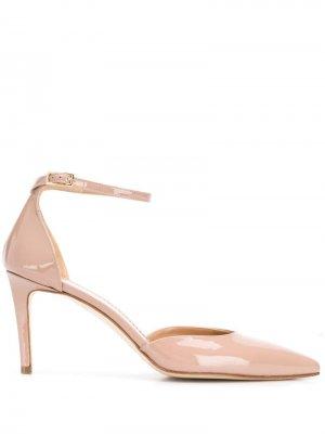 Туфли с ремешком на щиколотке Antonio Barbato. Цвет: бежевый
